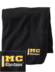 Mississippi College Choctaws Embroidered Holloway Stadium Fleece Blanket