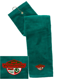 Afghanistan Soccer Embroidered Hand Towel with Grommet