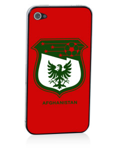 Afghanistan Soccer Apple iPhone 4/4S Skin