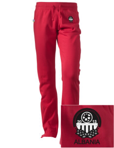 Albania Soccer Embroidered Holloway Women's Axis Performance Sweatpants