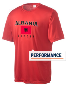 Albania Soccer Men's Competitor Performance T-Shirt