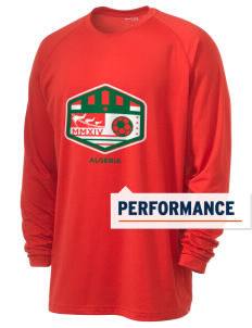 Algeria Soccer Men's Ultimate Performance Long Sleeve T-Shirt