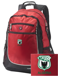 Algeria Soccer Embroidered OGIO Carbon Backpack