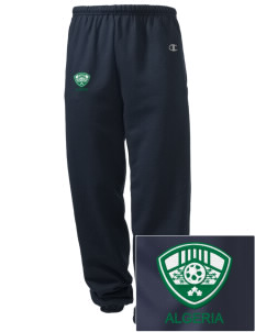 Algeria Soccer Embroidered Champion Men's Sweatpants