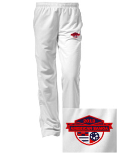 American Samoa Soccer Embroidered Women's Tricot Track Pants