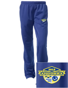 Andorra Soccer Embroidered Women's Tricot Track Pants
