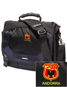 Andorra Soccer Embroidered OGIO Jack Pack Messenger Bag