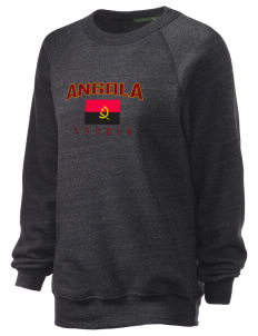 Angola Soccer Unisex Alternative Eco-Fleece Raglan Sweatshirt