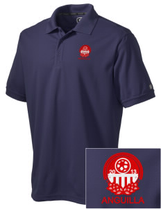 Anguilla Soccer Embroidered OGIO Men's Caliber Polo