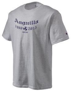 Anguilla Soccer Champion Men's Tagless T-Shirt