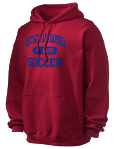 Antigua and Barbuda Soccer Ultra Blend 50/50 Hooded Sweatshirt