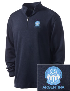 Argentina Soccer Embroidered Nike Men's Golf Heather Cover Up