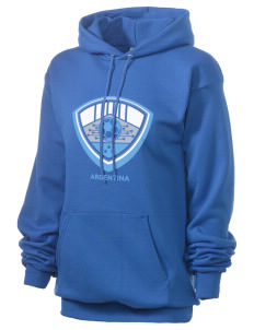 Argentina Soccer Unisex 7.8 oz Lightweight Hooded Sweatshirt