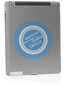 Argentina Soccer Apple iPad 2 Skin