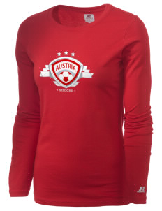 Austria Soccer  Russell Women's Long Sleeve Campus T-Shirt