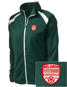 Belarus Soccer Embroidered Women's Tricot Track Jacket