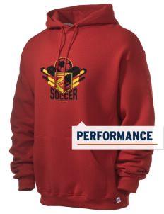 Belgium Soccer Russell Men's Dri-Power Hooded Sweatshirt