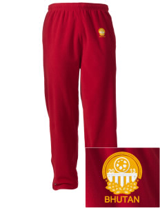 Bhutan Soccer Embroidered Holloway Men's Flash Warmup Pants