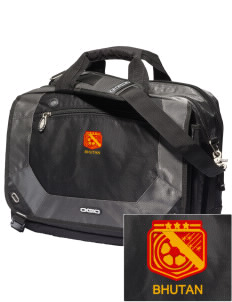 Bhutan Soccer Embroidered OGIO Corporate City Corp Messenger Bag