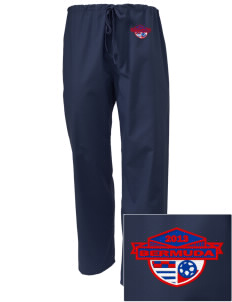Bermuda Soccer Embroidered Scrub Pants