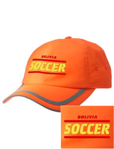 Bolivia Soccer  Embroidered Safety Cap