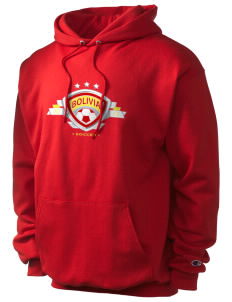Bolivia Soccer Champion Men's Hooded Sweatshirt