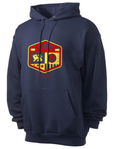 Bolivia Soccer Men's 7.8 oz Lightweight Hooded Sweatshirt