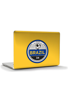 "Brazil Soccer Apple MacBook Pro 15.4"" Skin"