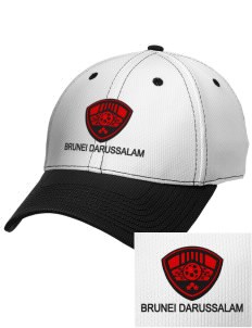Brunei Darussalam Soccer Embroidered New Era Snapback Performance Mesh Contrast Bill Cap