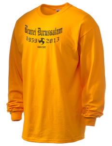 Brunei Darussalam Soccer 6.1 oz Ultra Cotton Long-Sleeve T-Shirt