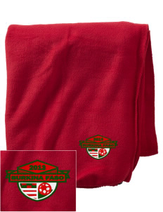 Burkina Faso Soccer Embroidered Holloway Stadium Fleece Blanket