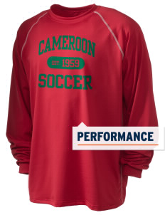 Cameroon Soccer Holloway Men's Fuel Performance Long Sleeve T-Shirt