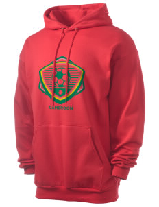 Cameroon Soccer Men's 7.8 oz Lightweight Hooded Sweatshirt