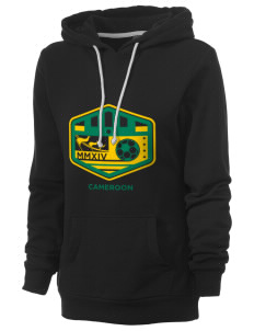Cameroon Soccer Women's Core Fleece Hooded Sweatshirt