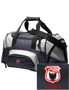 Canada Soccer Embroidered Small Colorblock Duffel