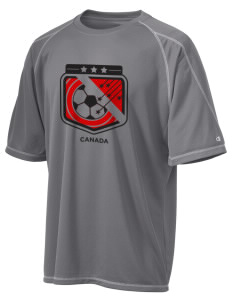 Canada Soccer Champion Men's 4.1 oz Double Dry Odor Resistance T-Shirt