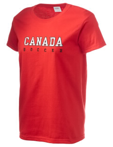 Canada Soccer Women's 6.1 oz Ultra Cotton T-Shirt