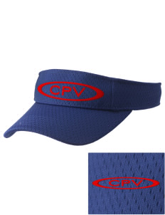 Cape Verde Islands Soccer Embroidered Woven Cotton Visor