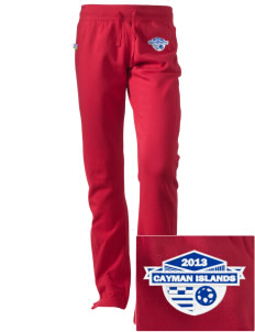 Cayman Islands Soccer Embroidered Holloway Women's Axis Performance Sweatpants