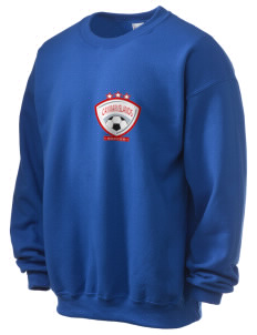 Cayman Islands Soccer Ultra Blend 50/50 Crewneck Sweatshirt