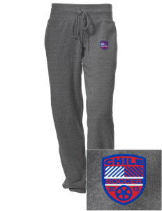 Chile Soccer Embroidered Alternative Women's Unisex 6.4 oz. Costanza Gym Pant