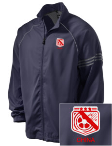 China Soccer Embroidered adidas Men's ClimaProof Jacket