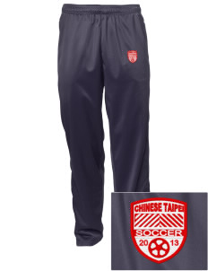 Chinese Taipei Soccer Embroidered Men's Tricot Track Pants