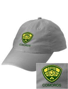 Comoros Soccer Embroidered Vintage Adjustable Cap