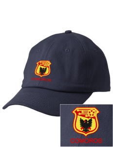 Comoros Soccer Embroidered Champion 6-Panel Cap