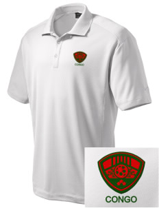 Congo Soccer Embroidered Nike Men's Dri-Fit Classic Polo