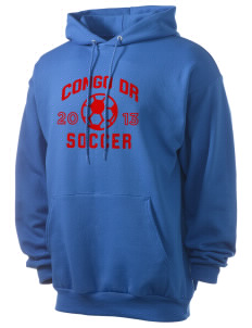 Congo DR Soccer Men's 7.8 oz Lightweight Hooded Sweatshirt