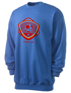 Congo DR Soccer Men's 7.8 oz Lightweight Crewneck Sweatshirt