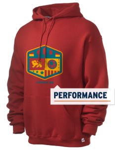 Congo DR Soccer Russell Men's Dri-Power Hooded Sweatshirt