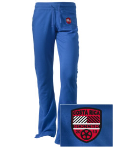 Costa Rica Soccer Embroidered Holloway Women's Axis Performance Sweatpants